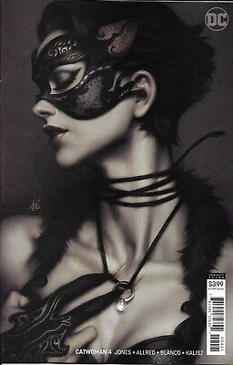 Catwoman Comic Issue 4 Limited Variant Modern Age First Print 2018 Jones DC