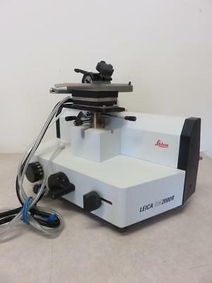 Leica SM2000R Sliding Microtome 045333784 with Disposable Blade Holder