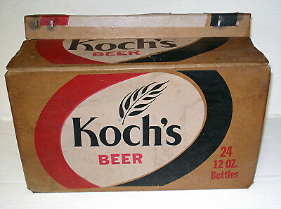 Koch's Beer - Dunkirk, Ny - 12 0Z. Bottle Case - Very Tough To Find!