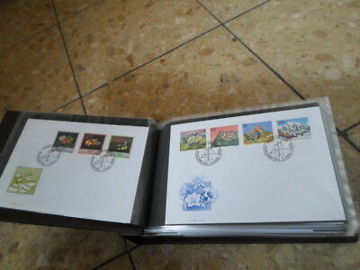 100 Briefe Belege FDCS Liechtenstein im Briefealbum