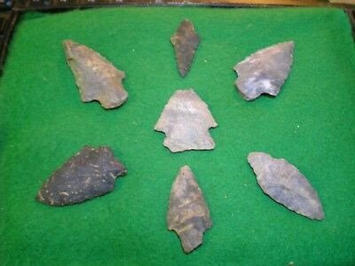 Authentic Arrowheads: Choice Assortment Of High Grade Points