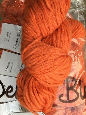 Debbie Bliss Lhasa shade 09 Pumpkin- sold per 50g Skein