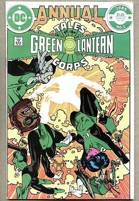 Tales Of The Green Lantern Corps Annual #1-1985 fn+ Gil Kane