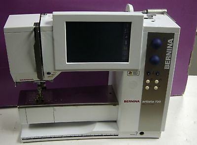 Bernina Artista 730E Sewing & Embroidery Machine w/ BSR and Digitizing Software