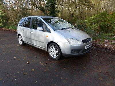 FORD FOCUS C-MAX ZETEC Silver Manual Petrol, 2004