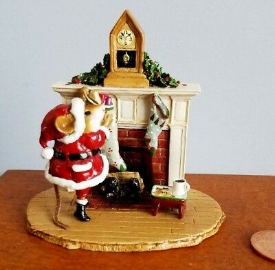 """Wee Forest Folk """"a Visit From St. Nick""""  M-471 , Mint"""