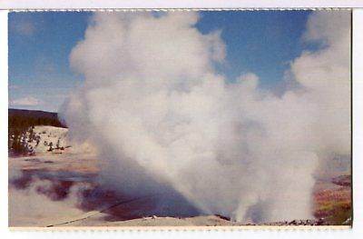 NORRIS GEYSER BASIN, Yellowstone NP 1970s Famous Places Postcard