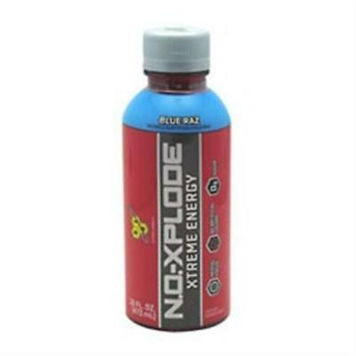 BSN 2760224 16 oz. No-Xplode Rtd 12 Bottles Blue Raz