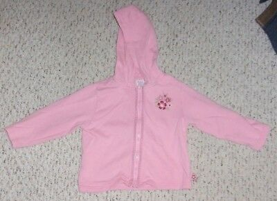 Pink Hooded Gymboree Lightweight Jacket, Portabello Road, Size 3T, VGUC