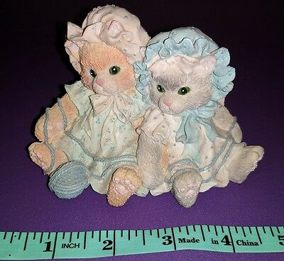 Enesco Calico Kittens You're Always There When I Need You by Priscilla Hillman
