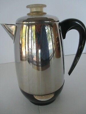 Vintage FARBERWARE 8 Cup Super-Fast Percolator Model 138 Percolator Made USA