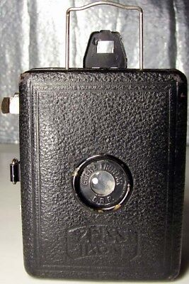 Vintage ZEISS IKON BOX TENGOR Camera-CHILDREN Easy to Use GOERZ FRONTAR D.R.P.