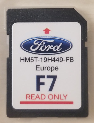 NEW FORD F7 2018 - 2019 LATEST FORD NAVIGATION MAP SD Card For SYNC 2 SYSTEMS