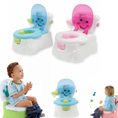 2 in1 Baby Toddler Kids Child Toilet Seat Potty Training Trainer Chair Blue Pink