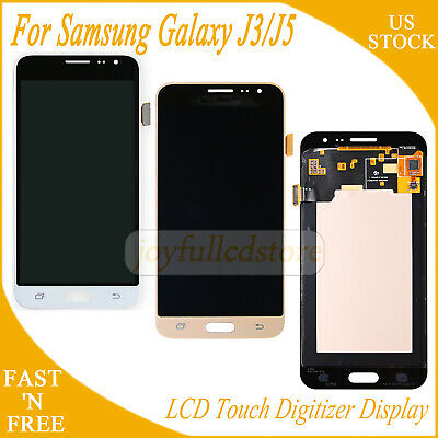LCD Display Touch Screen For Samsung Galaxy J3 J5 2016 Full Replacement USPS
