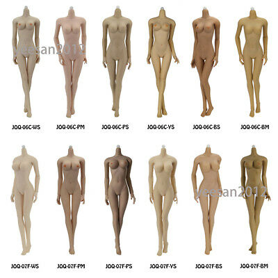 HOT FIGURE TOYS JIAOUDOL 1/6 Scale Flexible Seamless Body w/6 Color Big/Mid Bust
