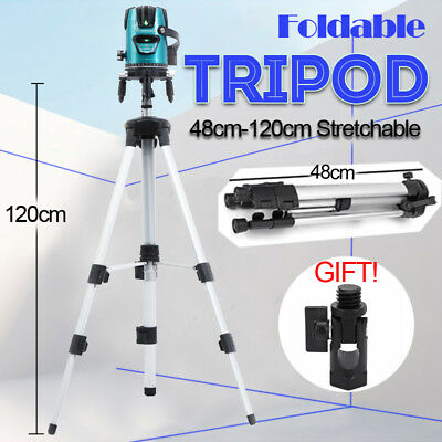 48-120cm Adjustable Universal Aluminum Alloy Tripod Stand For Laser Air Level