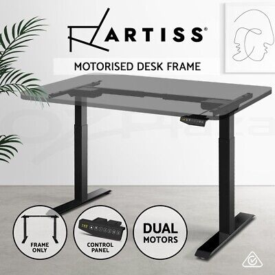 Artiss Standing Desk Sit Stand Height Adjustable Motorised Frame Only Dual Motor