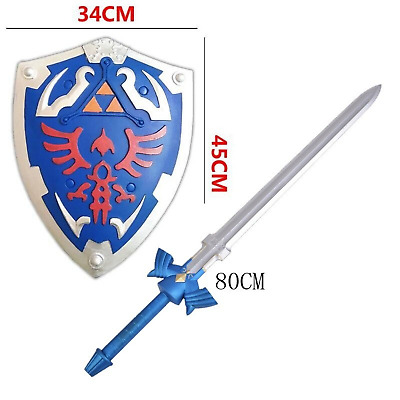 The Legend of Zelda Skyward  Sword & Shield Weapon Cosplay Soft PU Toy Play Gift