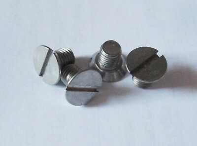 Triumph Spitfire, Stag, TR2-7, Herald, Brake Drum Securing Screws  Stainless x4