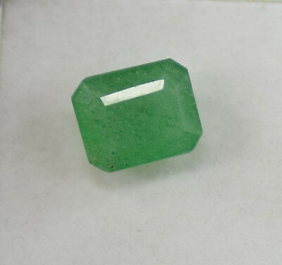 Best Quality 13.05 Ct Natural Certified Colombian Green Emerald Loose Gemstone