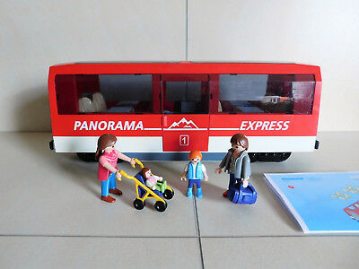 Playmobil 4124 Panorama Express / Personenwagen für RC Train ! Super !