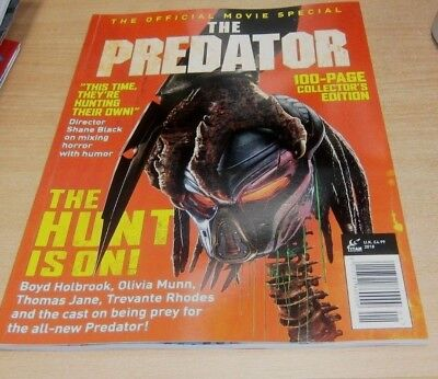 The Predator magazine Official Movie Special : 100 Page Colecctor's Edtion