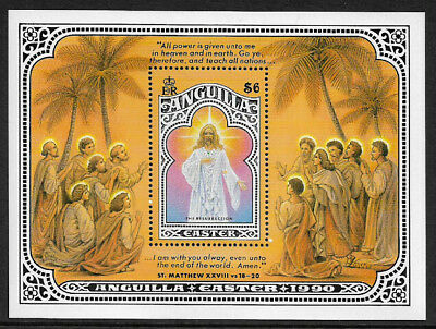 Anguilla #815 Mint Never Hinged S/Sheet - 1990 Easter