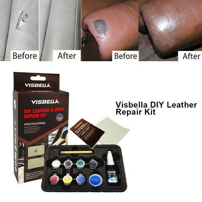 Leather Vinyl Paste Repair Tool Set Glue Kit for Car Seat Clothing Fix Cracks