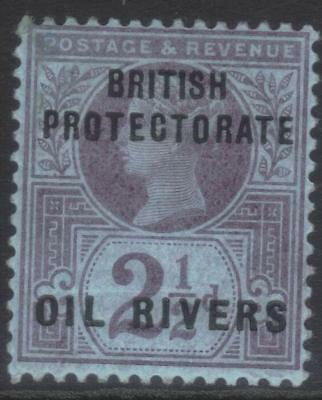 Oil Rivers 1892-1894 Optd Sg4 Mh
