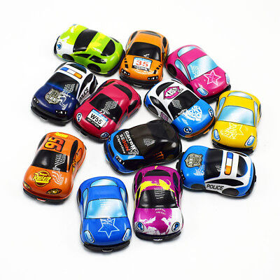 10pcs Mini Car Toys Pull Back Cars Speed Racing Vehicles Model Play Set for Kids