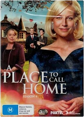 """A PLACE TO CALL HOME: Season 4"" DVD, 3 Disc Set - Region [4 & 2] BRAND NEW"