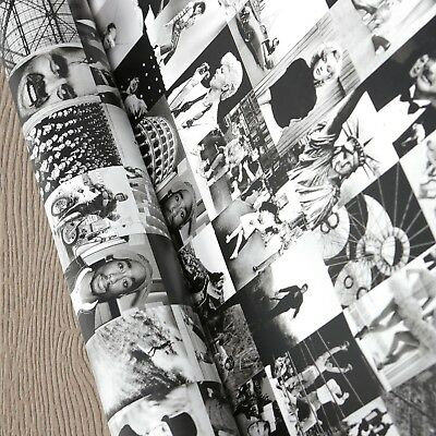 1 Wall Designer Photo Motif Feature Wallpaper Famous People