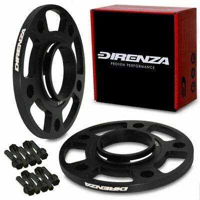 DIRENZA 5x130 10mm ALUMINIUM WHEEL SPACER PAIR FOR PORSCHE 911 996 997 BOXSTER