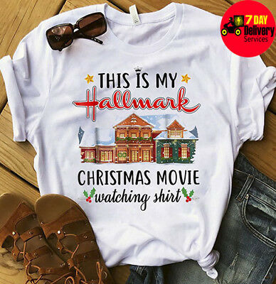 This Is My Hallmark Christmas Movie Watching Shirt White Cotton