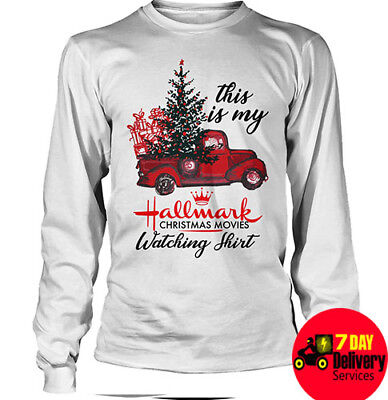This Is My Hallmark Christmas Movies Watching Shirt Tree Xmas Shirt