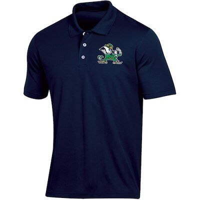 Men's Russell Navy Notre Dame Fighting Irish Classic Fit Synthetic Polo