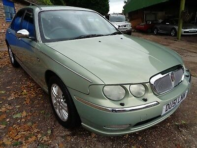 2001 Rover 75 2.0 TD Auto - 62866 miles, Service History Incl. 1 Owner.