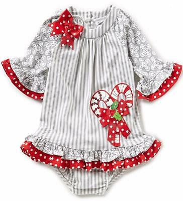 new rare editions baby girls gray red candycane size 24m 2pc christmas dress  nwt - Rare E Christmas Tutu Reindeer Pant Set Jens Kids Boutique. Rare