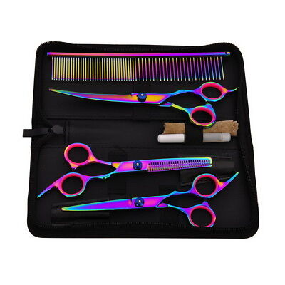 Professional Hair Cutting Thinning Scissors Shears Set Barber Hairdressing Salon