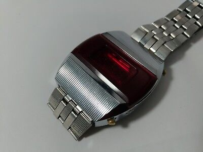 sehr seltene Elektronika-1 LED Pulsar watch made in USSR  WORKING!!