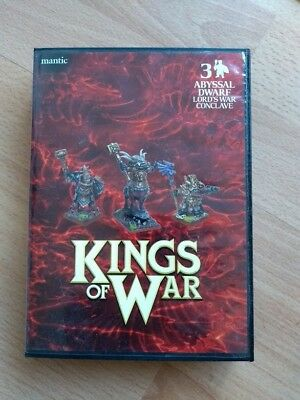 Mantic Games - Kings of War - War Lord Conclave der Abyssal Dwarfs