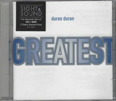 Duran Duran - Greatest CD & DVD, Save a Prayer, Wild Boys, A View to a Kill u.m.
