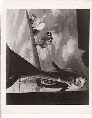VINTAGE B-47 In Flight Refueling  Aircraft PHOTO, 8 X 10 Original MINT!