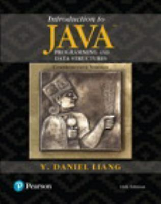 Introduction to Java Programming and Data Structures, Comprehensive Version...
