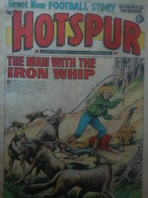 The HOTSPUR Vintage comic from 7.11.1970. Issue no.577.Decent condition.