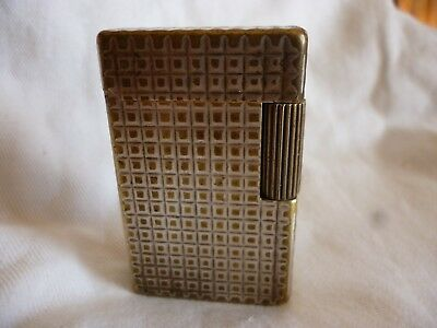 "RARE ANCIEN  BRIQUET  "" DUPONT     ""     TB   essence  grand modele"