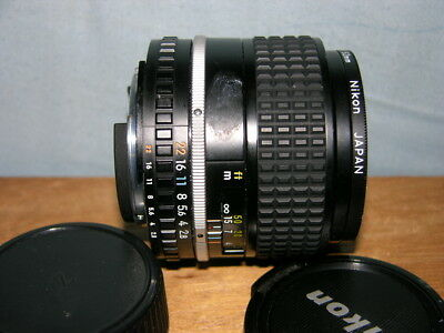 Nikon Nikkor 100mm f2.8 Lens Series E with Nikon L37 Filter