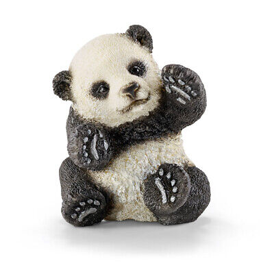 Schleich 14734 Panda Cub, Playing (World of Nature - Wild Life) Plastic Figure