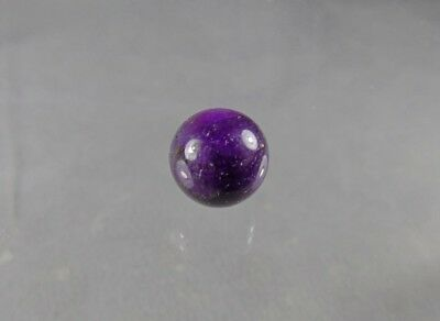 dkd#24/ 12.1mm UNDrilled PURPLE  Sugilite Marble